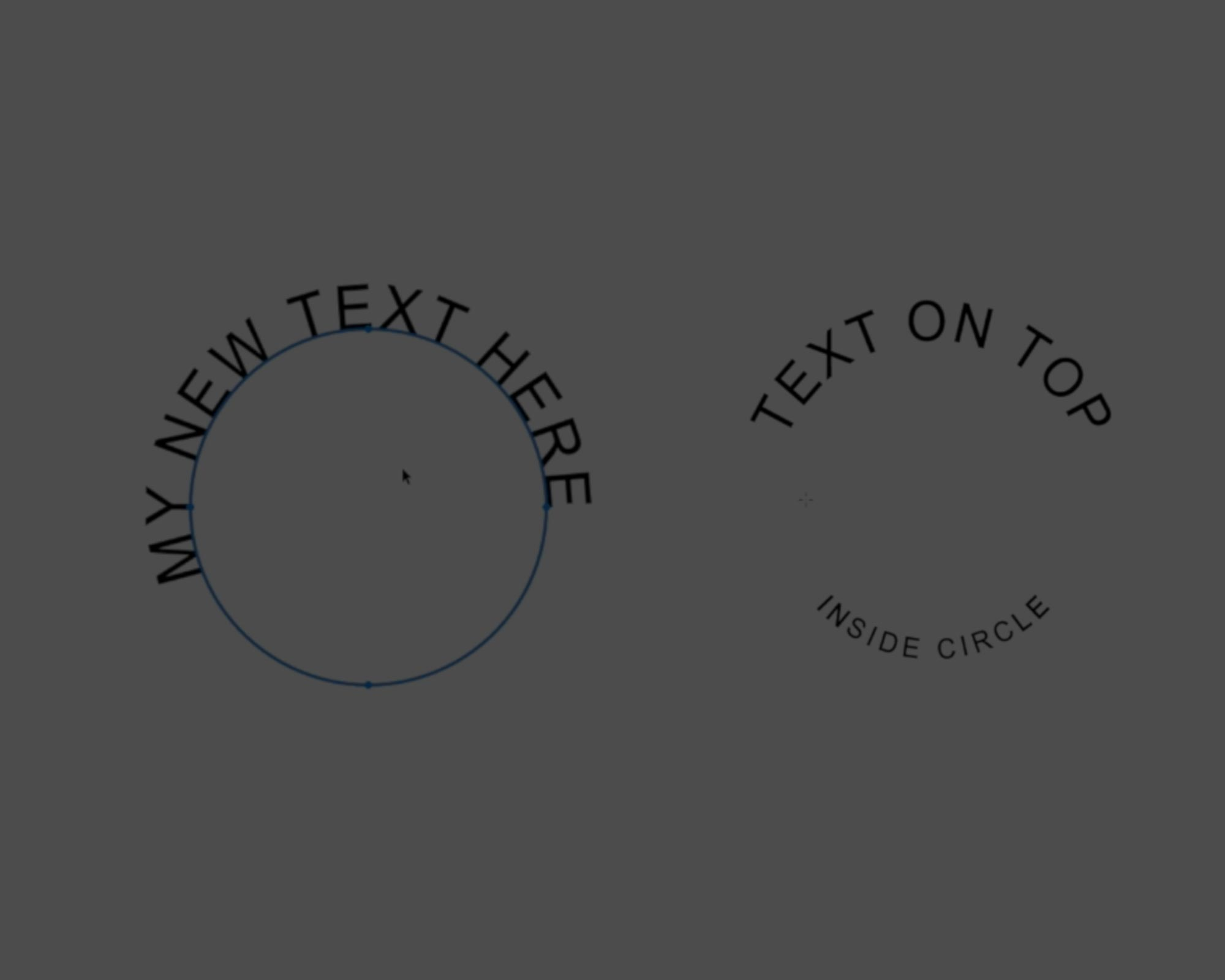 How to Type Text in Circle in Photoshop!