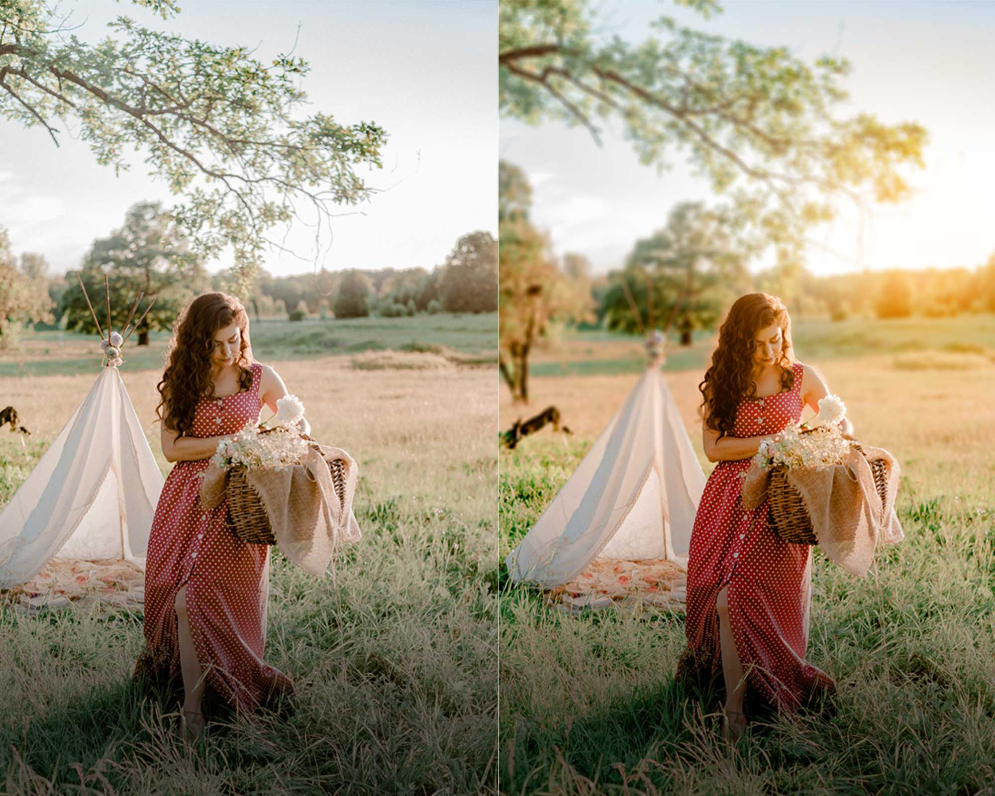 How to blur background in Photoshop!