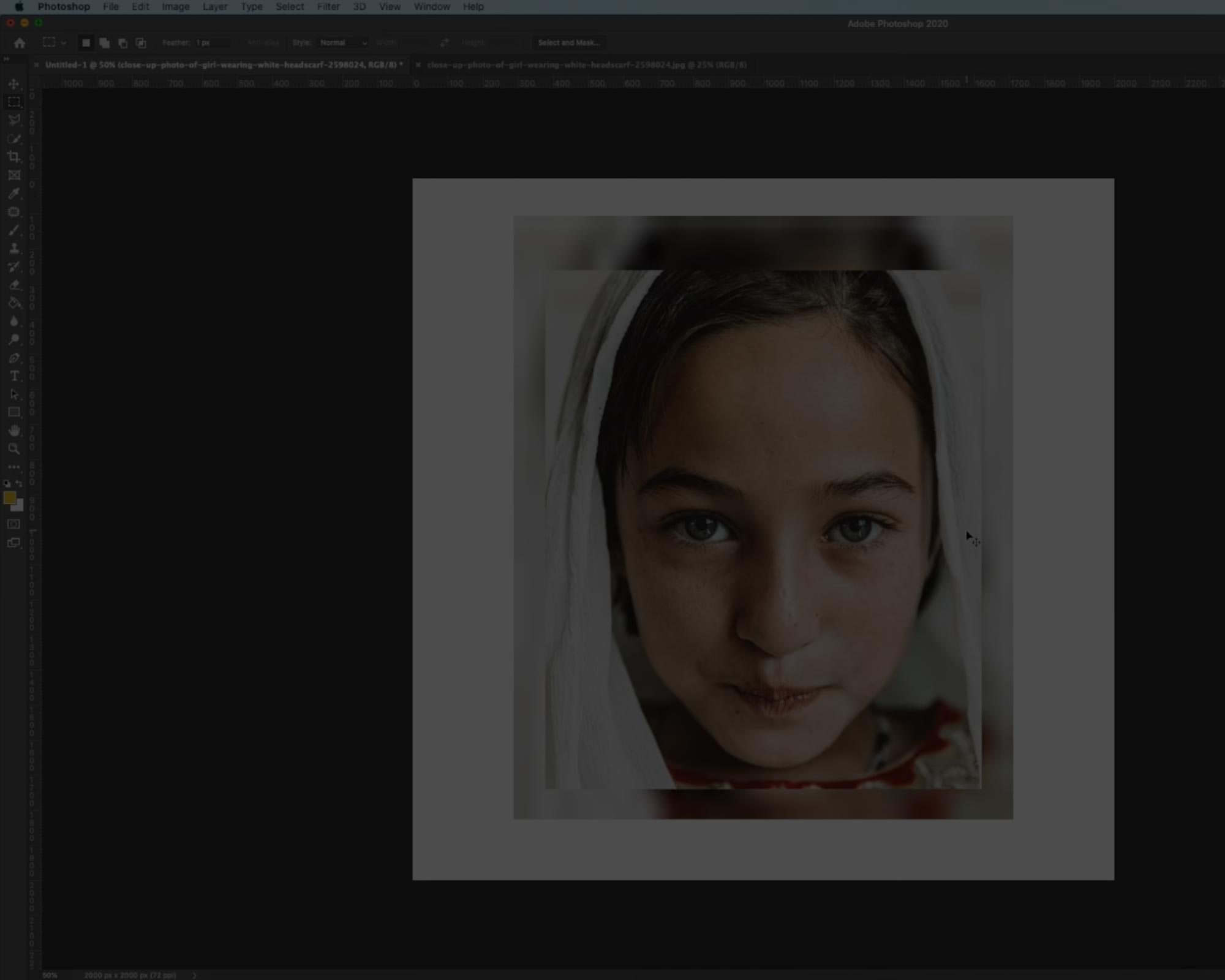 How to resize images without losing quality in Photoshop!