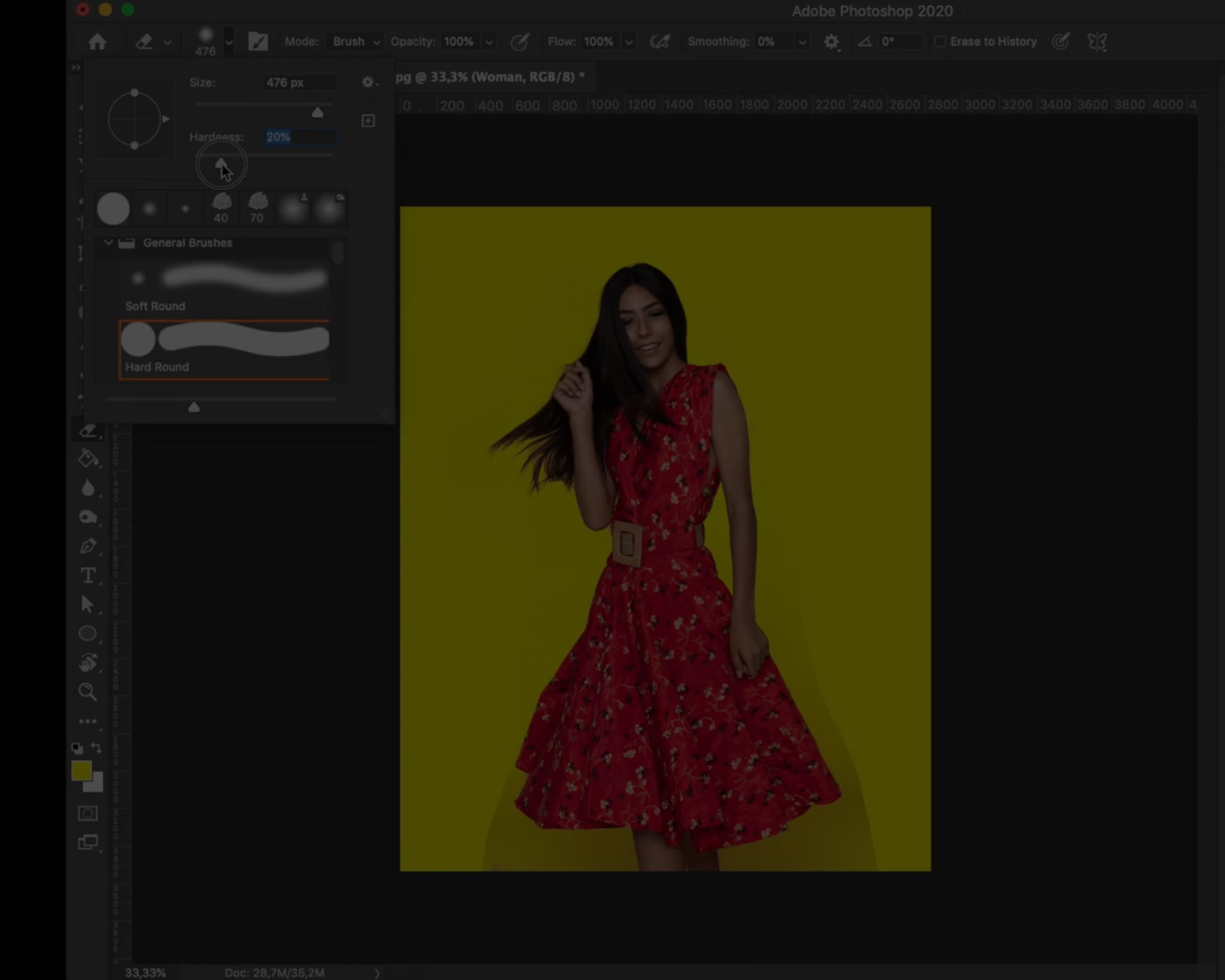 How to remove background in Photoshop!
