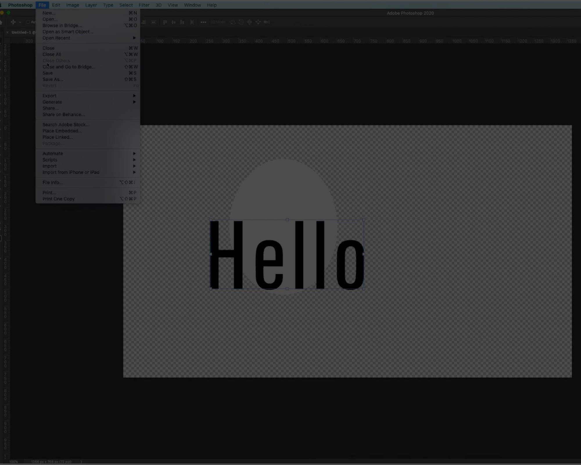 How to change White to Transparent background in Photoshop!